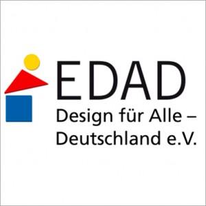 Logo von EDAD Design für Alle - Deutschland e.V.