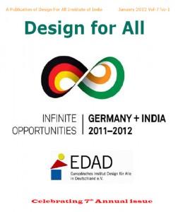 Titel der Publikation Design for All Germany+India