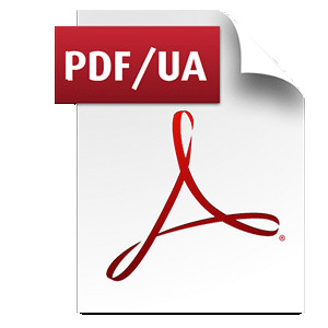 Icon für ein PDF/UA